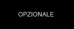 opzionale